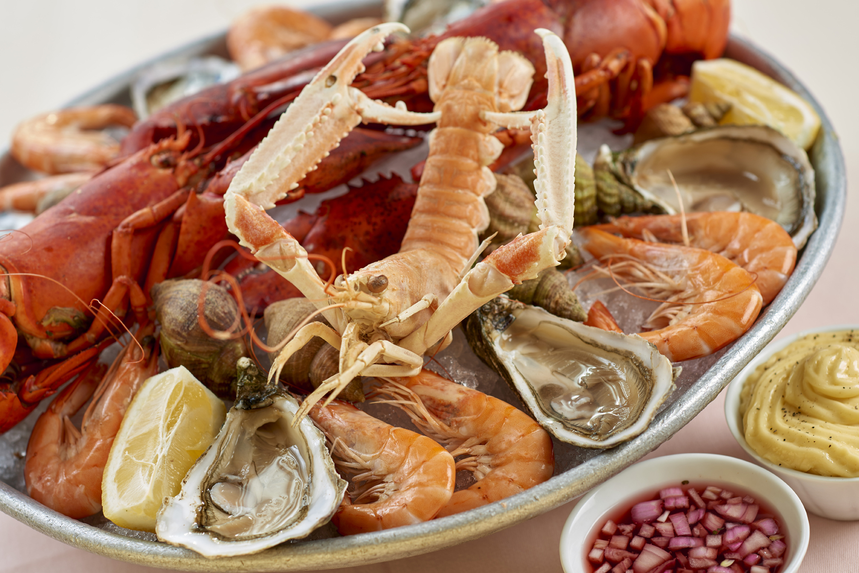 FRUITS DE MER & CRUSTACES
